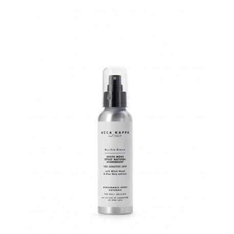 White Moss Natural Spray Deodorant