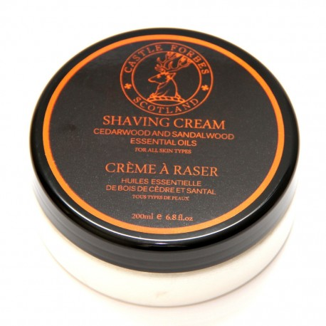 Shaving Cream Cedar and Sandalwood