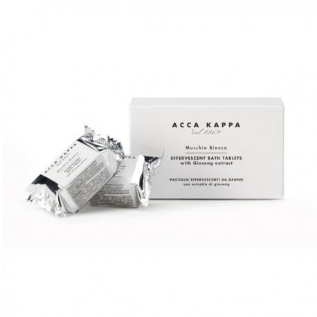 Muschio Bianco Effervescent Bath Tablets
